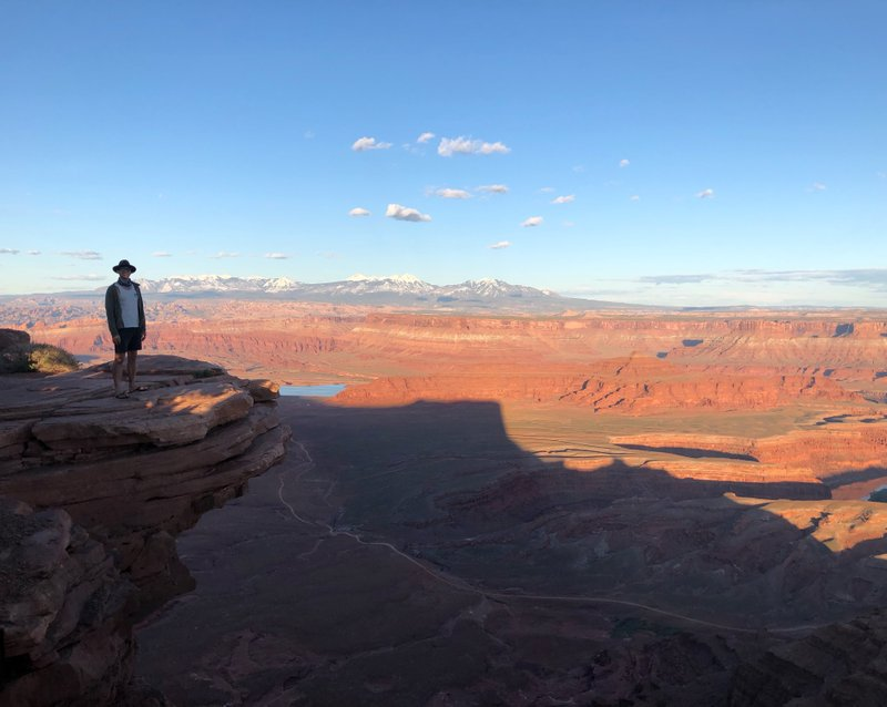 Dead Horse Point overlook!