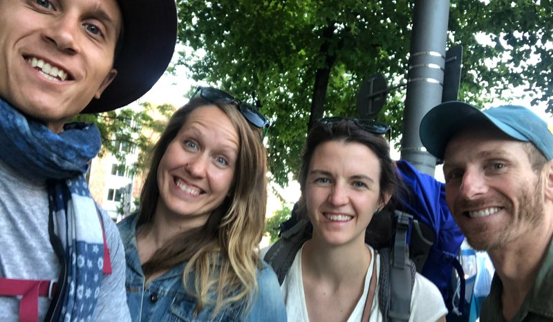 We were all a little frazzled by the time we got to Munich!