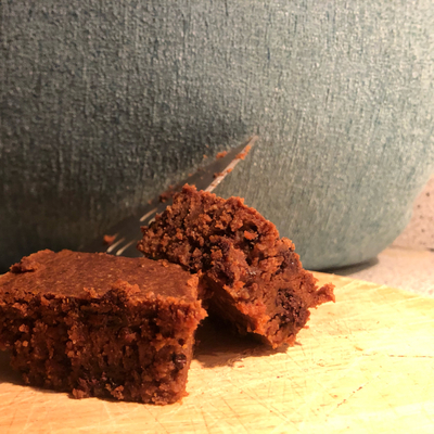 Low FODMAP Choco-Peanut Butter Brownies cover photo